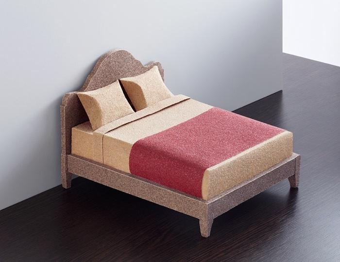 Sandpaper Bed