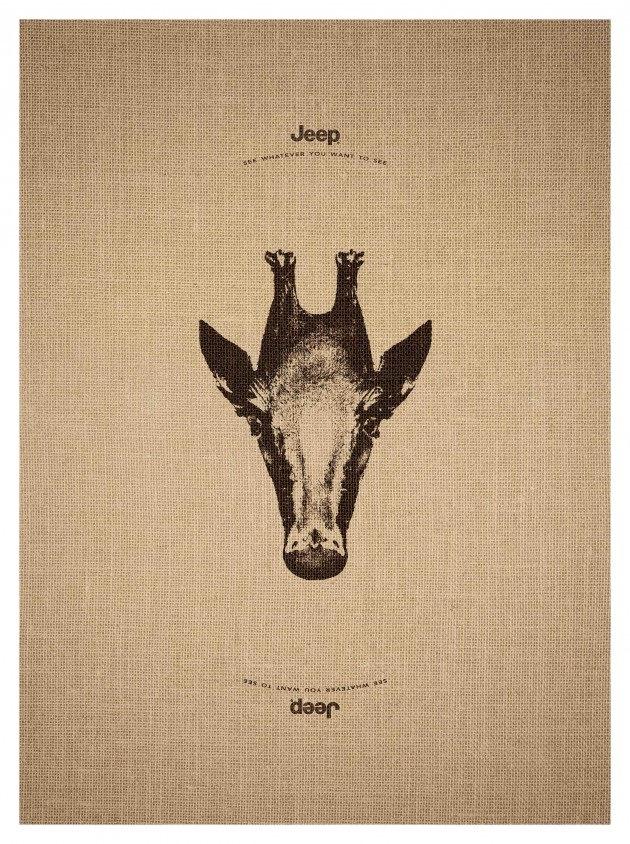 Jeep girafa