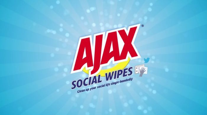 Ajax Social Wipes 9