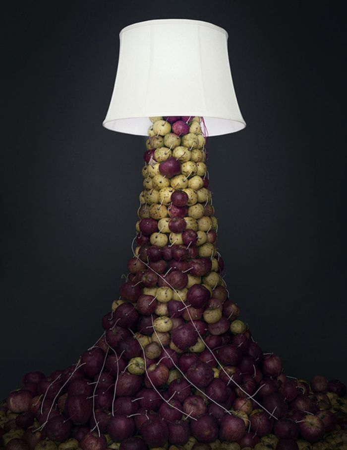 Caleb Charland Back To Light Apple Lamp