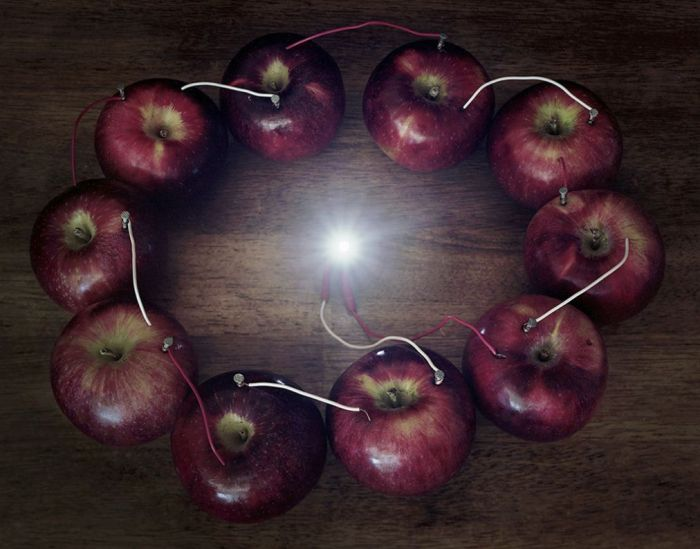 Caleb Charland Back To Light Ring of Apples