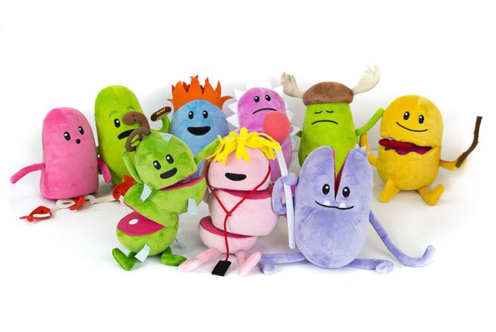 dumb ways to die plush toys 1