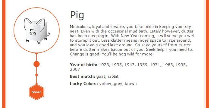 ikea zodiac pig