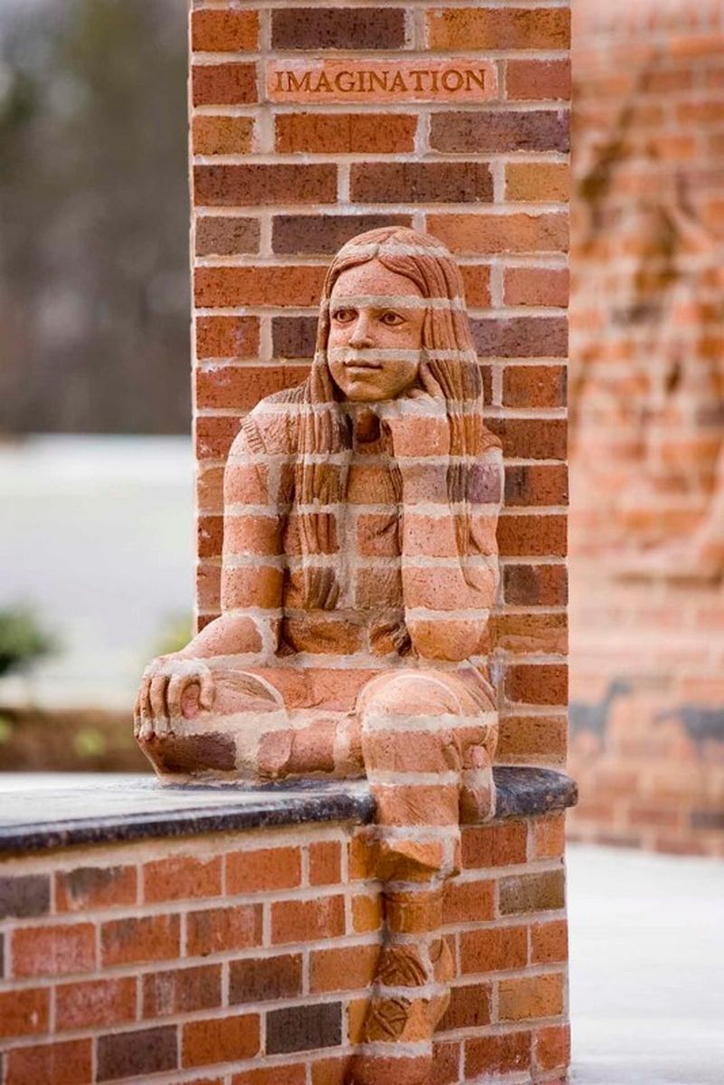 Brad Spencer Brick Sculpture 10
