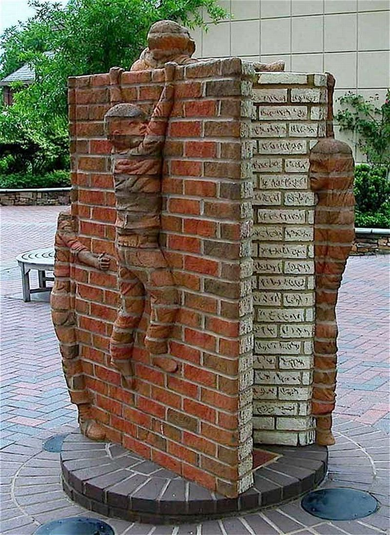 Brad Spencer Brick Sculpture 13