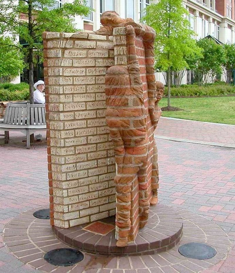 Brad Spencer Brick Sculpture 14