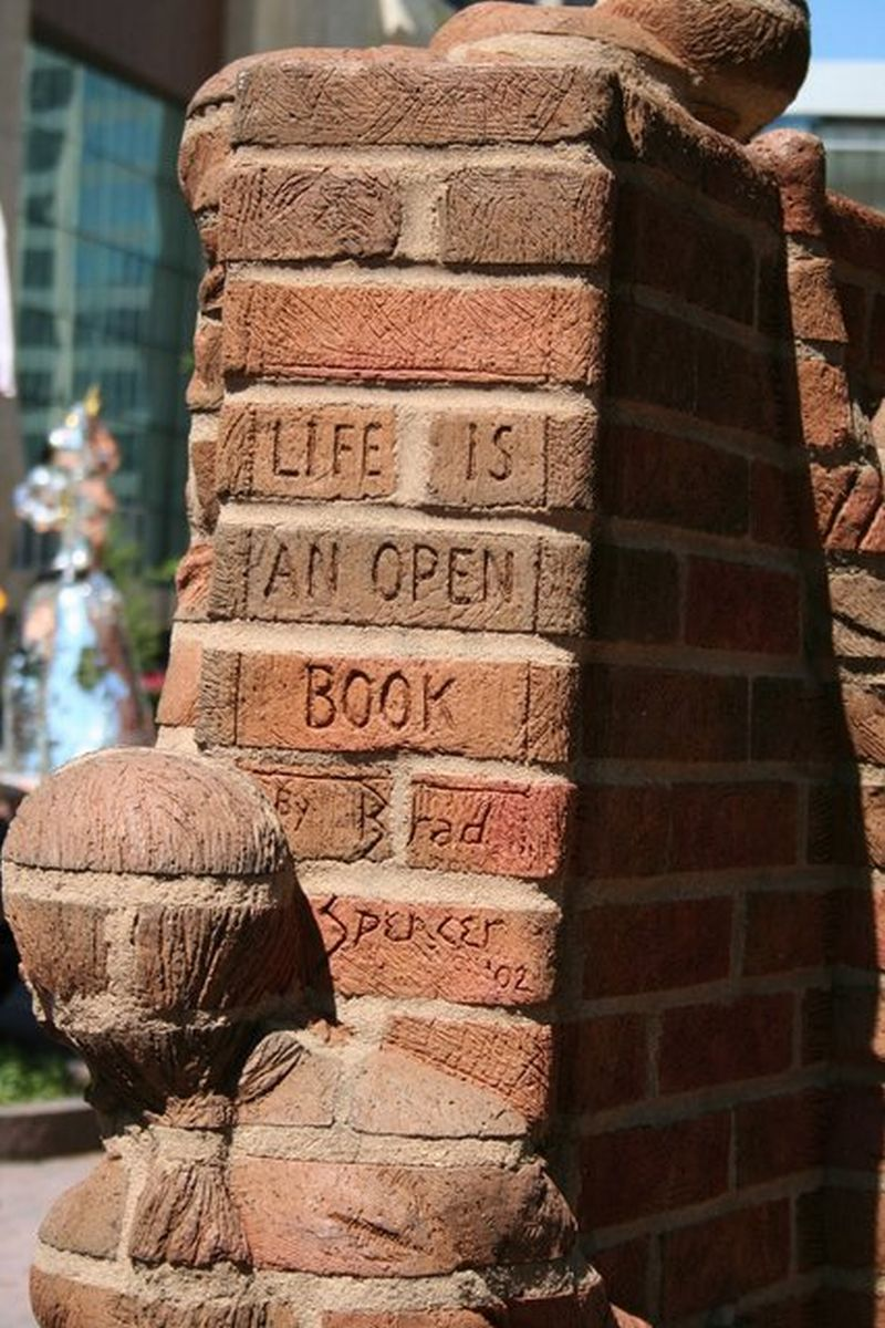 Brad Spencer Brick Sculpture 15