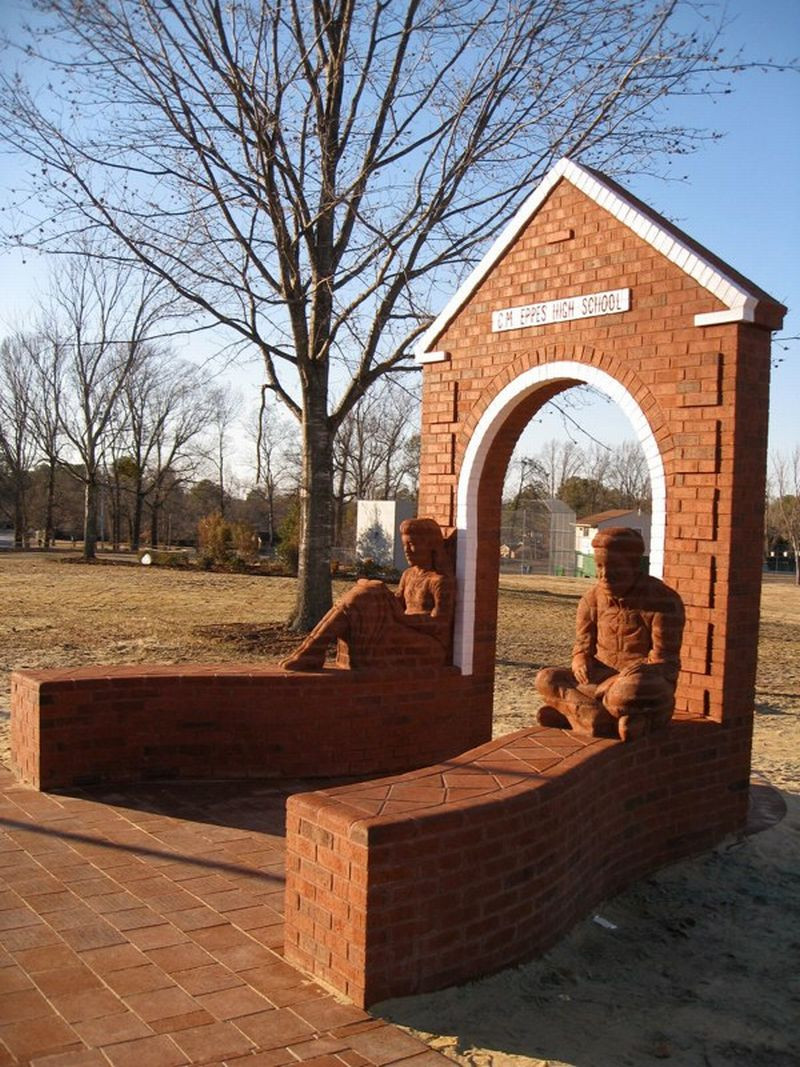 Brad Spencer Brick Sculpture 2