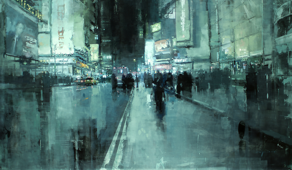 Jeremy Mann 7th Avenue Night