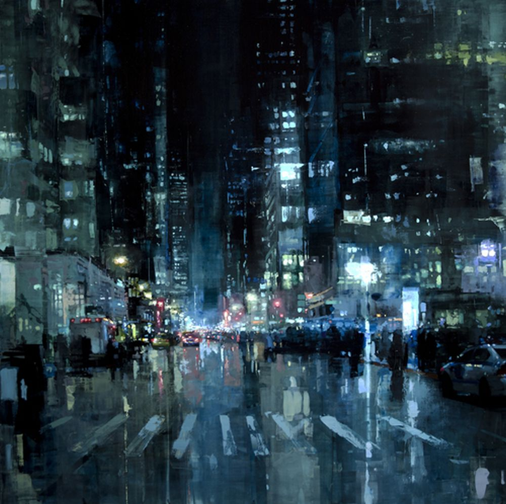 Jeremy Mann Manhattan Nights