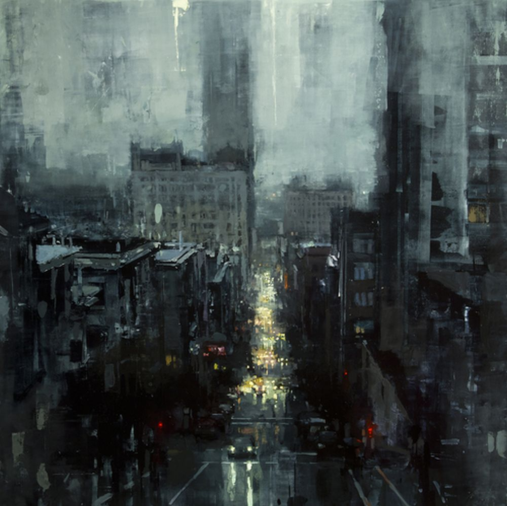 Jeremy Mann The City Tempest