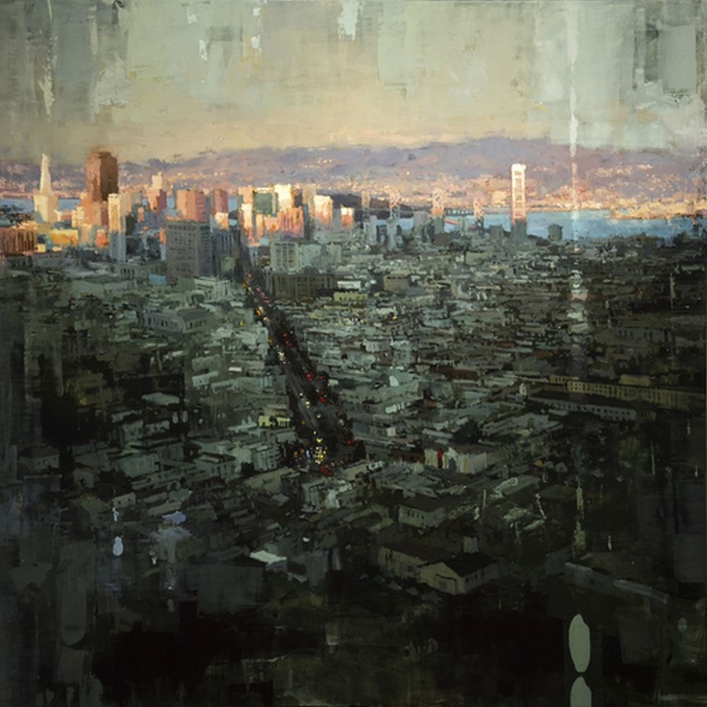 Jeremy Mann The Last Light of San Francisco