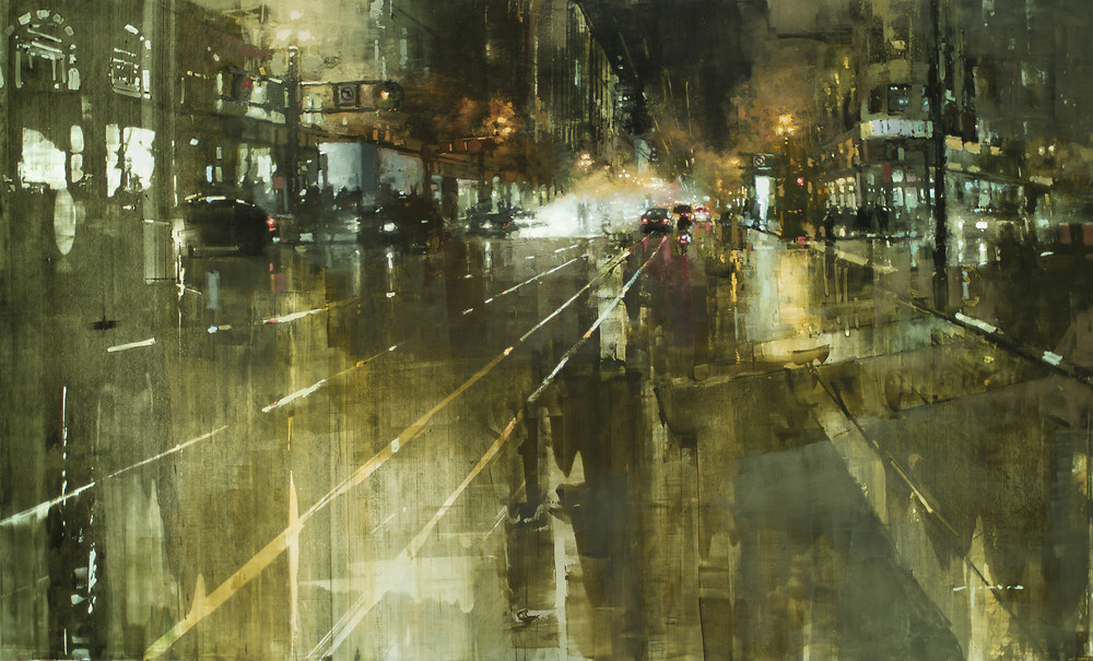 Jeremy Mann The Market Street Steamvent