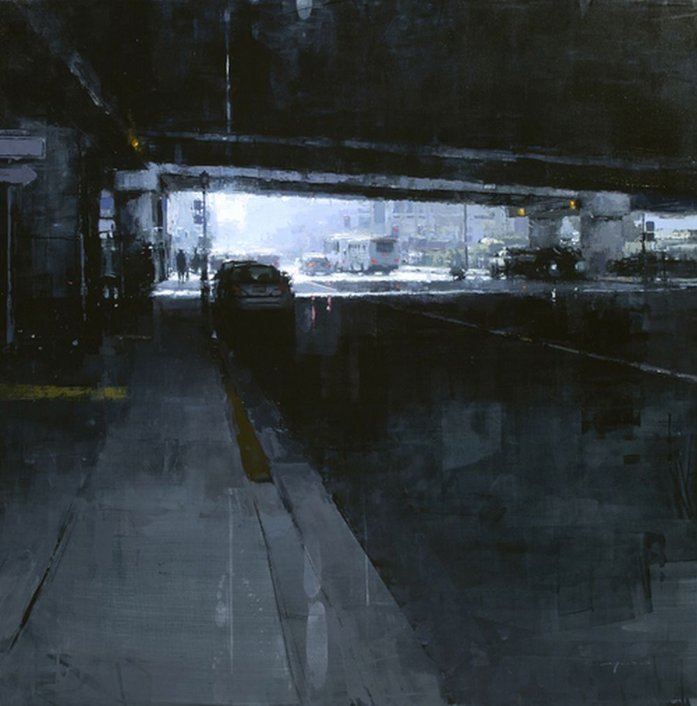 Jeremy Mann Under the 80 in Blue