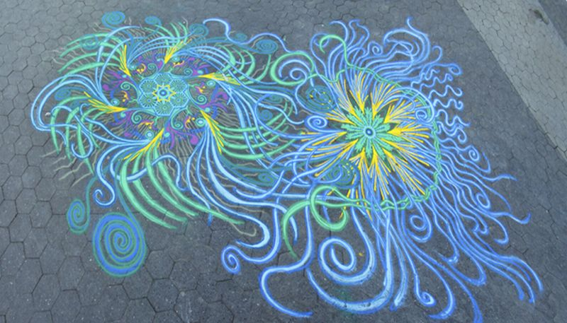 Joe Mangrum Sand Painting UnionSq 3