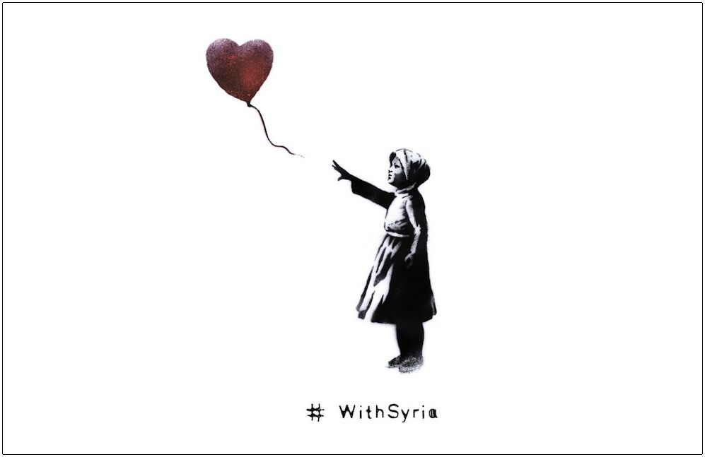 Banksy WithSyria