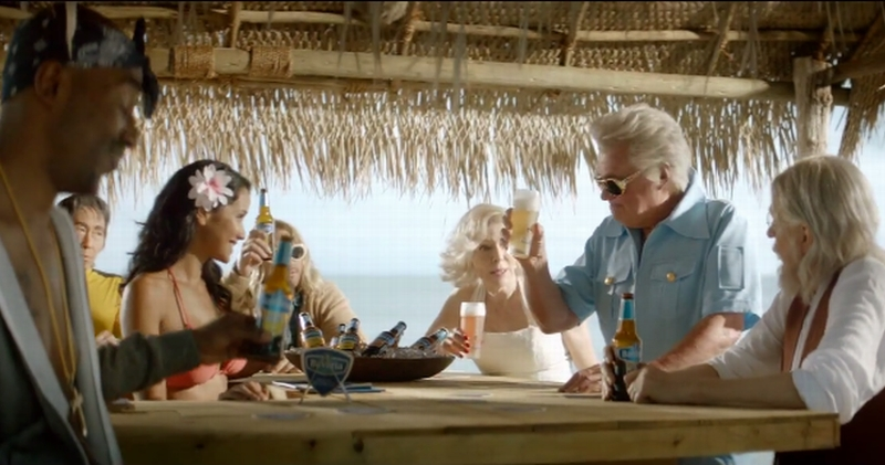 Bavaria Radler Celebrities Commercial 7