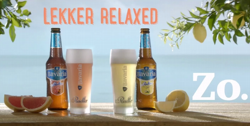 Bavaria Radler Celebrities Commercial 8