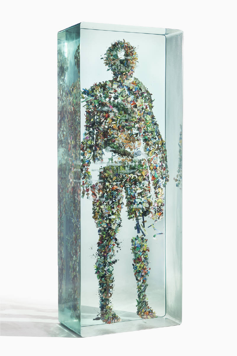 Dustin Yellin Psychogeography no.41