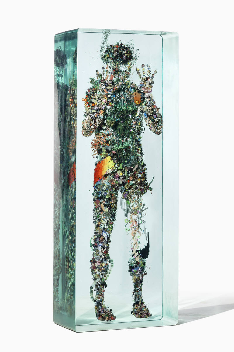 Dustin Yellin Psychogeography no.43