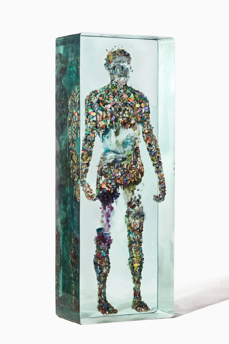 Dustin Yellin Psychogeography no.48