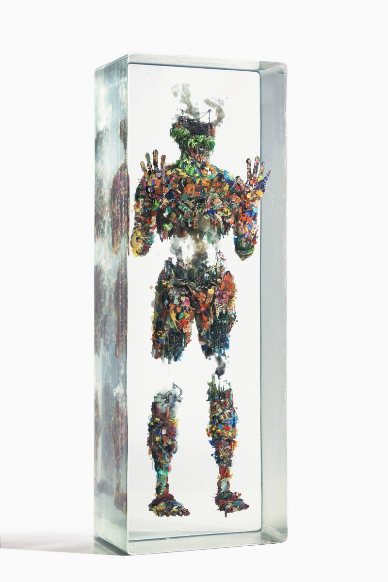 Dustin Yellin Psychogeography no.61