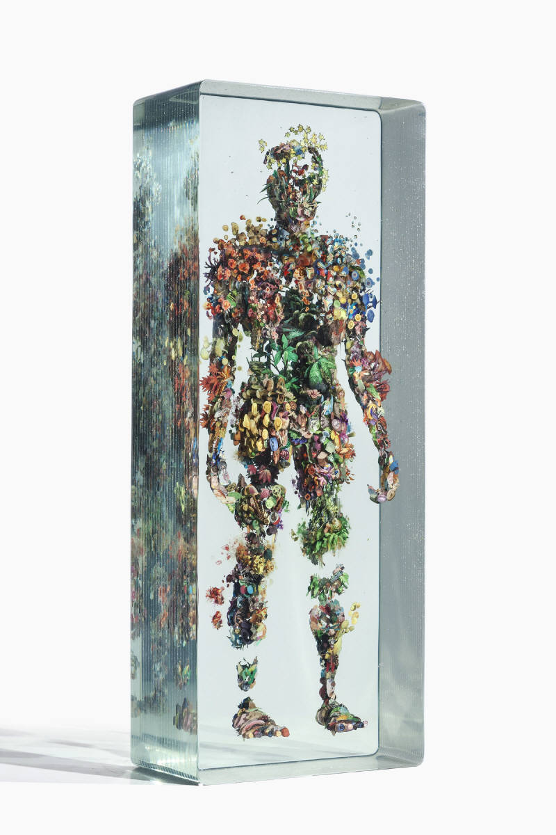 Dustin Yellin Psychogeography no.66