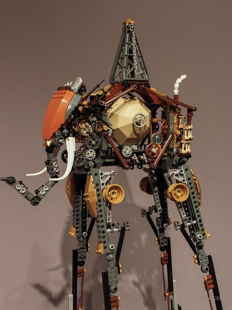 Jin Kei Lego Elephant 3