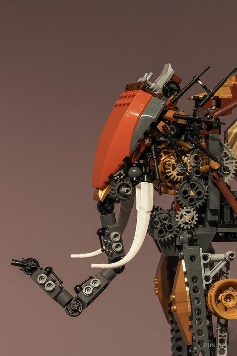 Jin Kei Lego Elephant 5