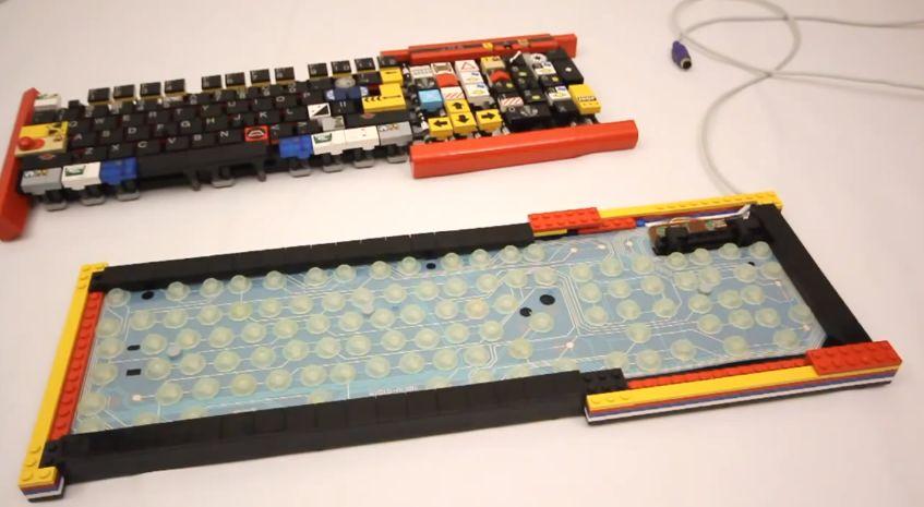 JK Brickworks Lego Keyboard Frame 2