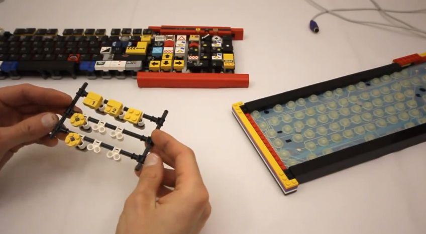 JK Brickworks Lego Keyboard Frame 3