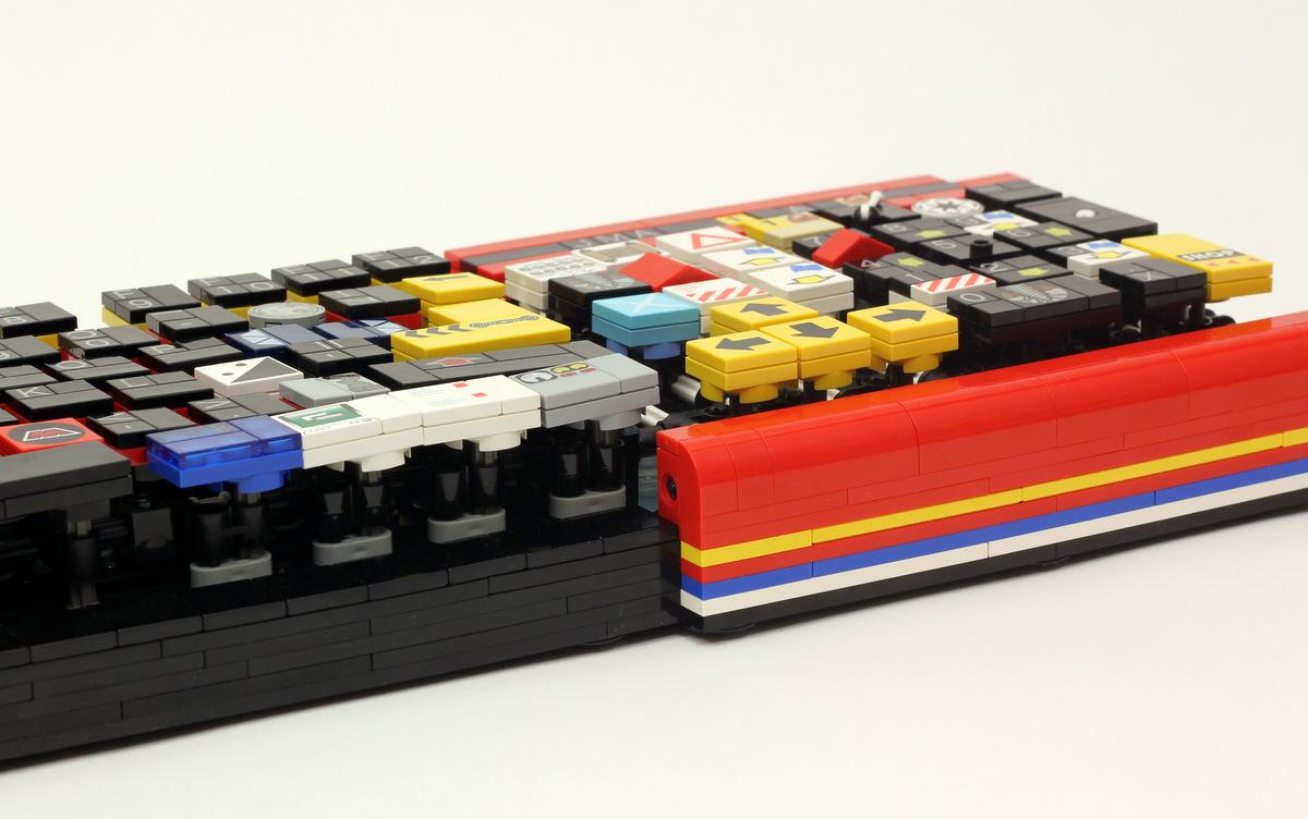 JK Brickworks Lego Keyboard Frame