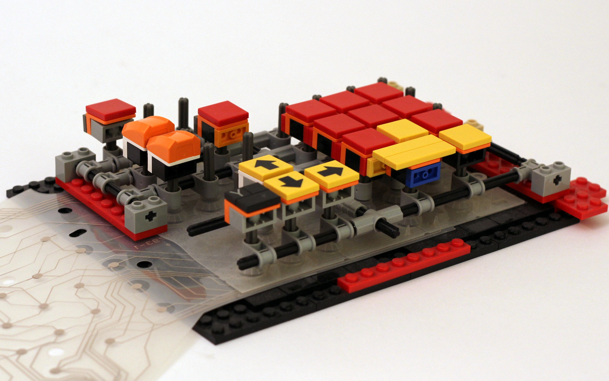 JK Brickworks Lego Keyboard Prototype