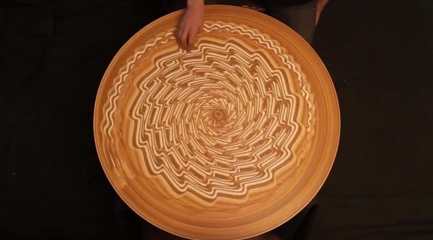 Michael Gardener sand art 2