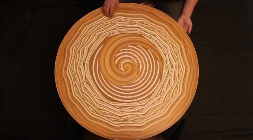 Michael Gardener sand art 3