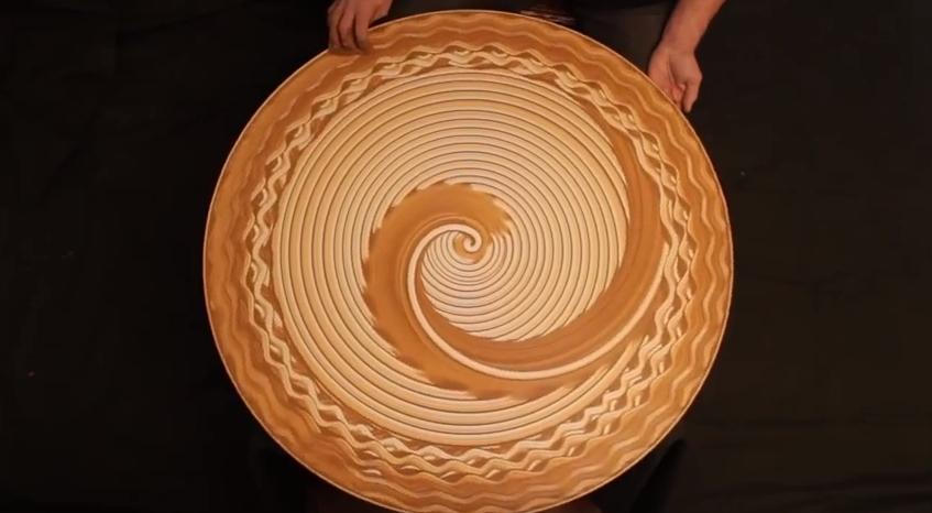 Michael Gardener sand art 5