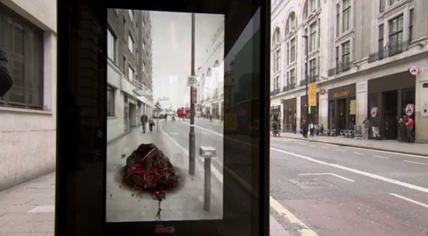 Pepsi Max Unbelievable Bus Shelter 2