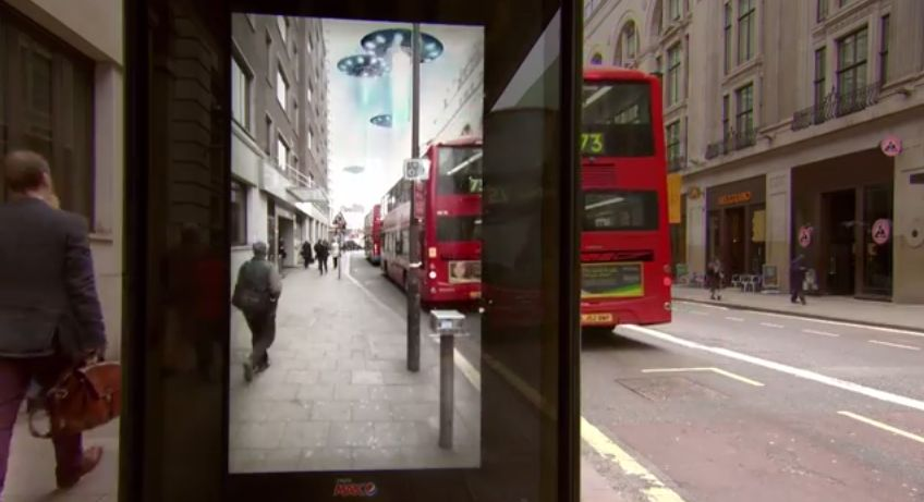 Pepsi Max Unbelievable Bus Shelter 4