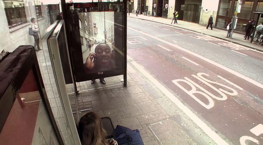 Pepsi Max Unbelievable Bus Shelter 9