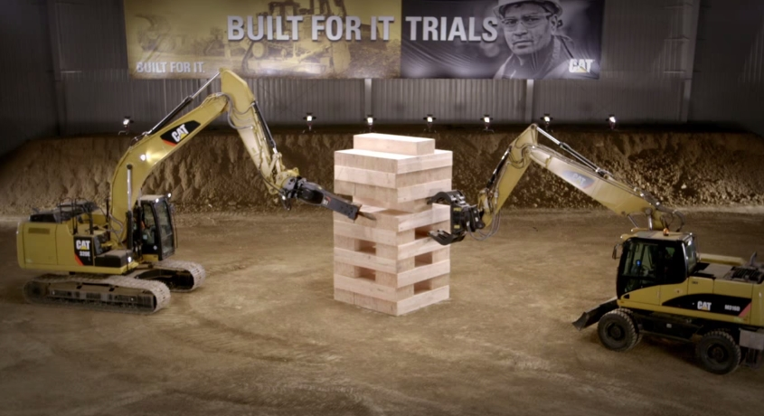 Built For It CAT Jenga 12