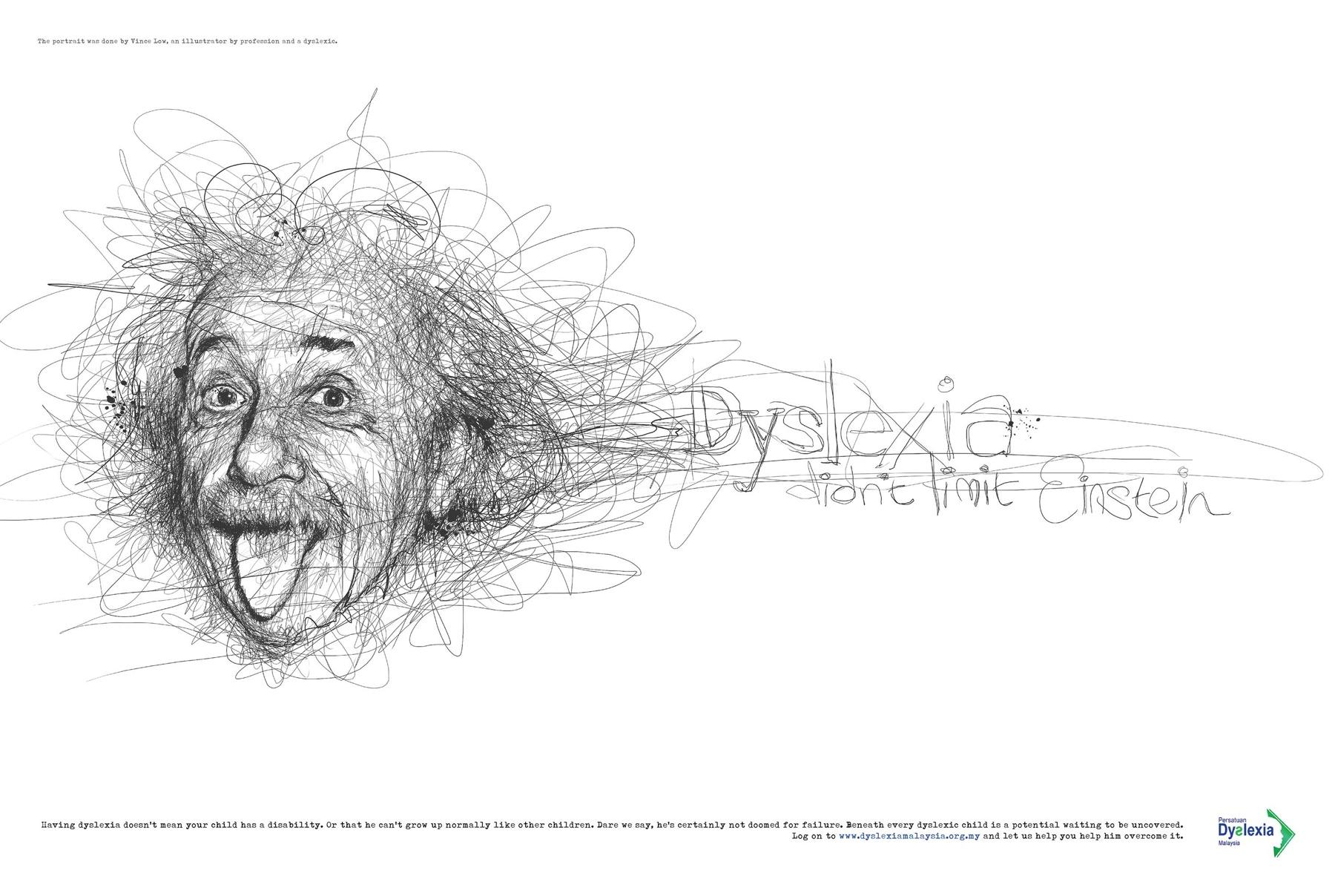Dyslexia Malaysia Albert Einstein