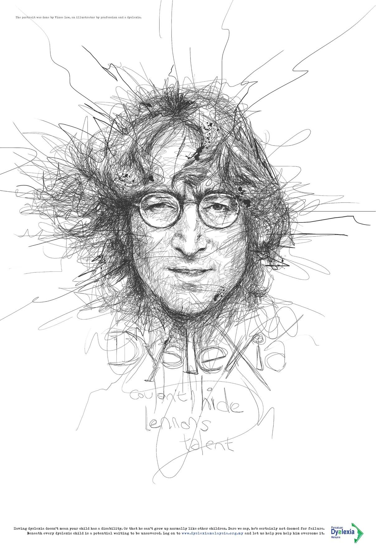 Dyslexia Malaysia John Lennon