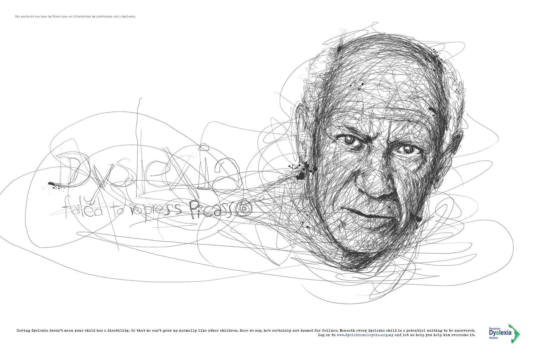 Dyslexia Malaysia Pablo Picasso