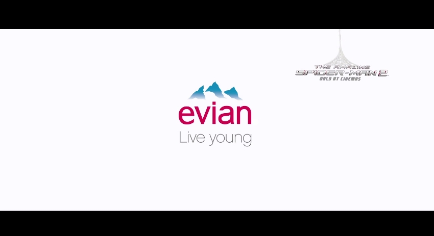Evian SpiderMan Amazing Baby 10