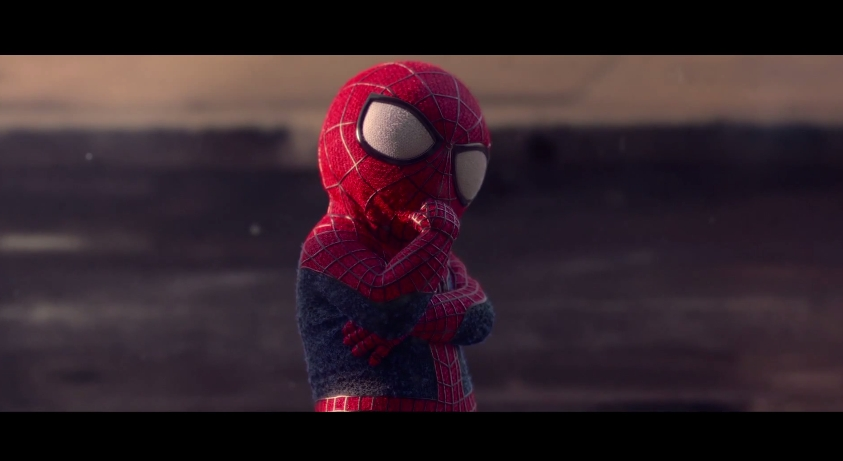 Evian SpiderMan Amazing Baby 8