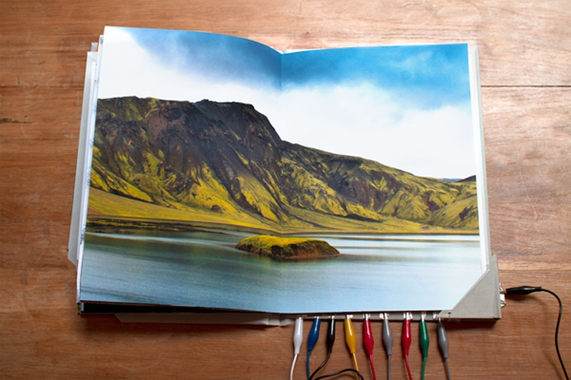 Hvisl Iceland Art Book 2