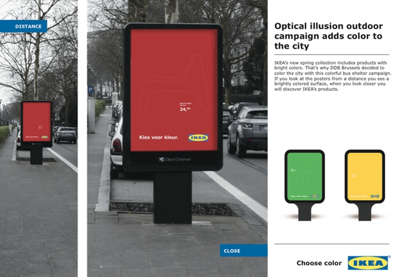 IKEA Choose Color Billboard 1