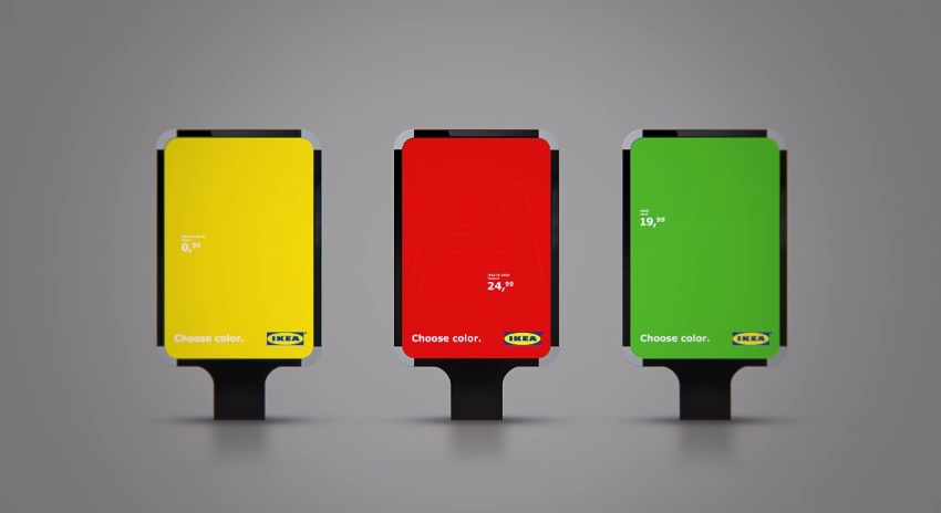 IKEA Choose Color Billboard 5