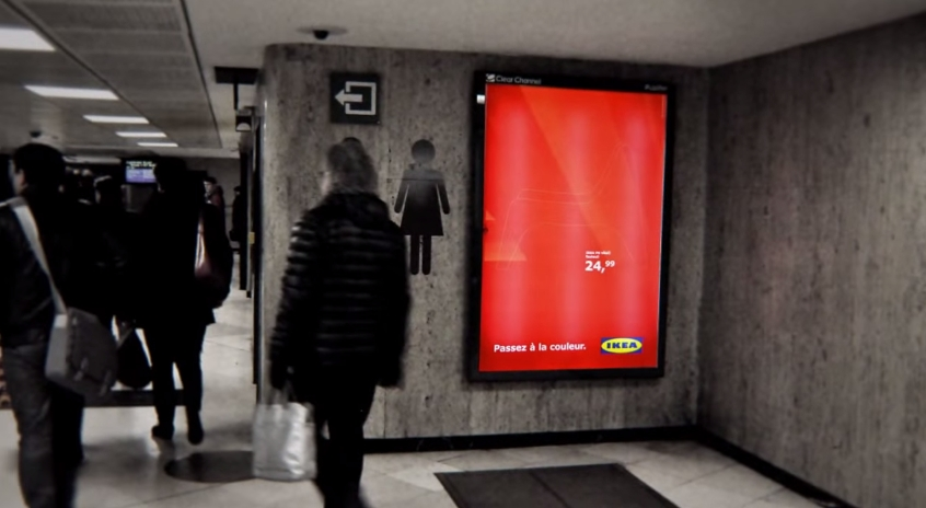 IKEA Choose Color Billboard 6