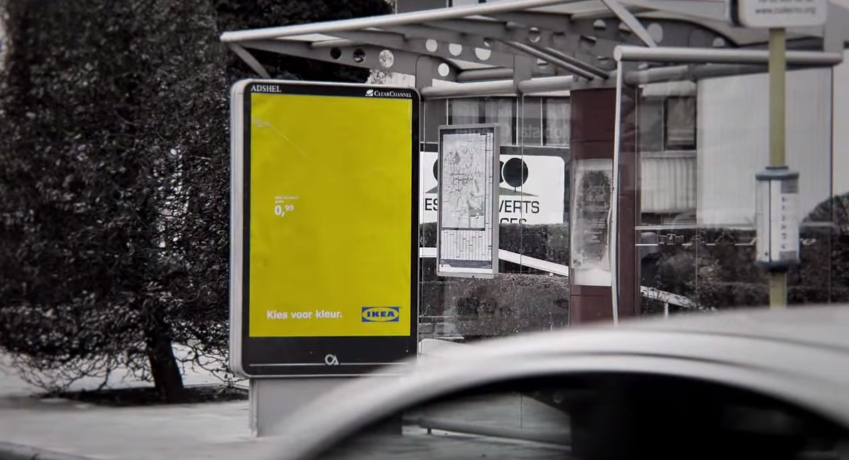 IKEA Choose Color Billboard 7